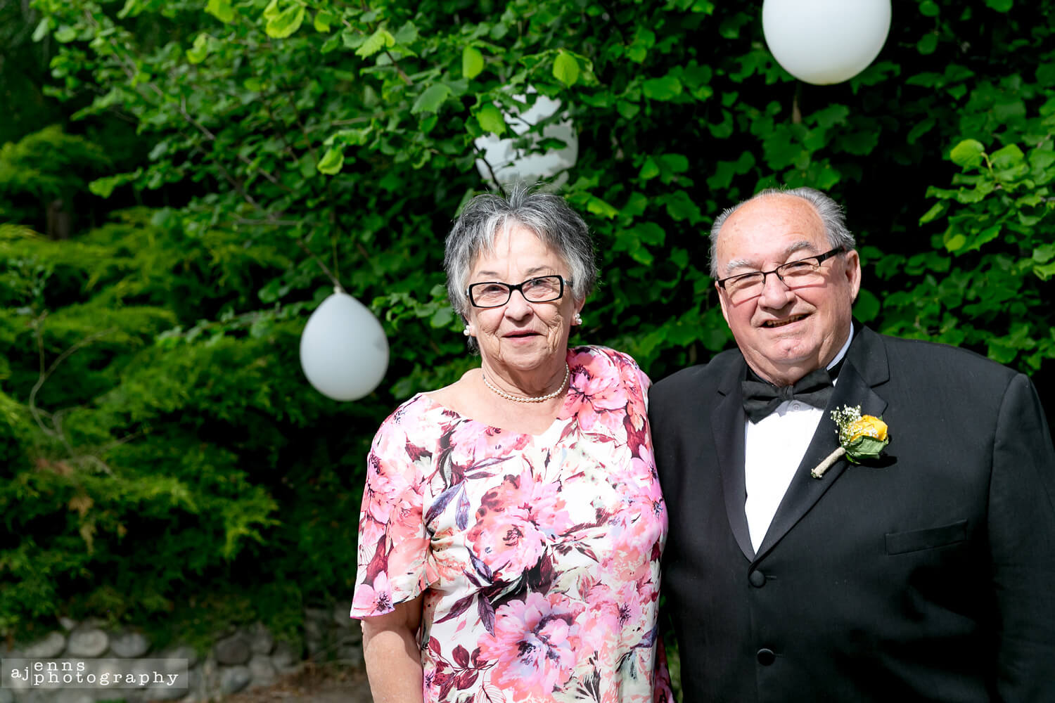 50 year wedding anniversary of the parents of the groom